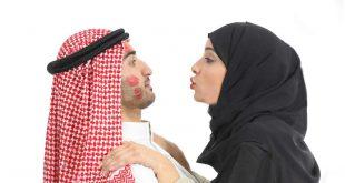 إمرأة تشكر زوجها بطريقة ملفة